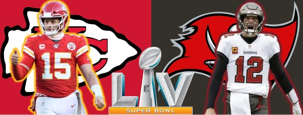 Super Bowl LV - Chiefs vs Buccaneers